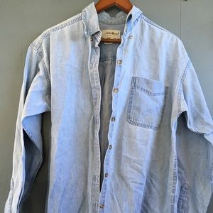 Eddy Bouers Denim Button-down/pullover